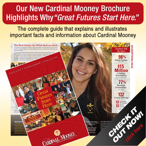 Our New Cardinal Mooney Brochure Highlights Why Great Futures Start Here